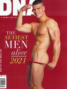 DNA Magazine #260 gay men Sexiest Man Alive 2021 MICHELE VITACCA MALIK DELGATY