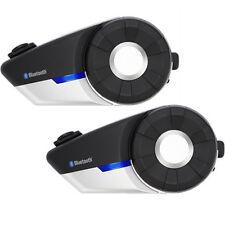 Sena 20S Intercom Bluetooth Communication System - Dual Unit Motorcycle 20S-01D