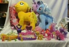 My Little Pony Lot MLP 14 Plush & Misc Figures Bags + More 28x14x14 10 LBs 15 Oz