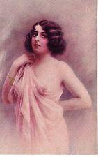 ILLUSTRATORE ITALIANO Donnina Nudo Sexy Nude Girl PC Circa 1920