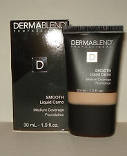 Dermablend Smooth Liquid Camo Medium Coverage Foundation - Camel 30 N Nib Fresh