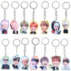BTS BangTan Boys Kpop Keychain Keyring Acrylic Single Side Jimin Jin J-Hope New