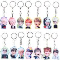 BTS BangTan Boys Kpop Keychain Keyring Acrylic Single Side Jimin Jin J-Hope New