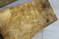 "Laurel Burl Wood Veneer  2 sheets 36.5 x 20 cm (~14.3 x 7.87"") ~0.55mm ~1/45"