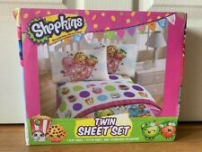 Shopkins 3 piece twin sheet set Brand New