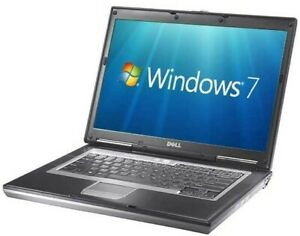 Dell Latitude D630 Core 2 Duo 2.0GHz 1GB RAM 80GB HDD 14.1'' Win7 Laptop