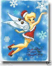 Merry Christmas Tinker Bell Hand Signed Margaret Kerry Disney Original Model