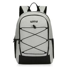 27 Cans Insulated Cooler Backpack Leakproof Soft Cooler Bag Lightweight Picnics