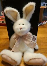"""New ListingBoyds """"Peaches Thumper"""" White Bunny with tags. Adorable Boyds bunny!"""