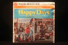 Happy Days Viewmaster w/3 Reels & Booklet 1974 ABC TV Show Ron Howard Fonzie
