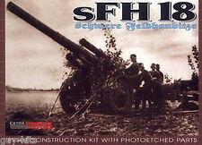Canon moyen Allemand sFH 18  15 cm - KIT EXTRATECH 1/72 N° EXM7231