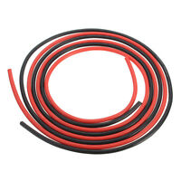 12 AWG 10 Feet Gauge Silicone Wire Flexible Stranded Cables for RC Black+Red ED