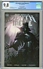 Dark Nights Death Metal #2 CGC 9.8 Frankies Comics Edition A Robin King Mattina
