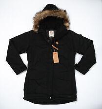 Fjallraven Nuuk Black Parka Coat Jacket - Women's Medium (M)