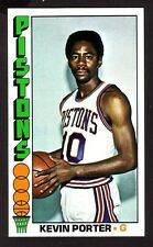 1976/77 TOPPS KEVIN PORTER CARD NO:84 NEAR MINT CONDITION