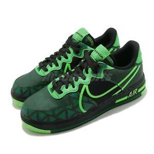 Nike Air Force 1 React QS AF1 Naija Black Pine Green Strike Men Shoes CW3918-001