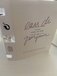 2x New Avon Viva La Vita Eau de Parfum Vaporisateur EDP 1.5ml Purse Travel Spray
