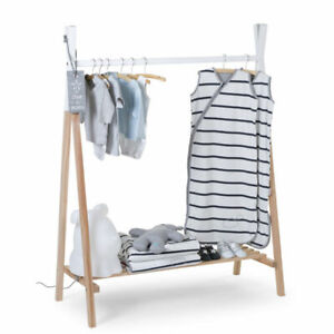 CHILDHOME Kids Tipi Teepee Clothes Rack - Solid Beechwood