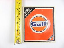 Genuine Original Gulf Fuels - Paddy Hopkirk 1960/70s Woven Cloth Patch - Badge