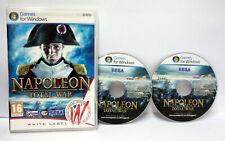 NAPOLEON TOTAL WAR (2 DVD ROM) SEGA GIOCO 2 DVD ROM VERS UK ACCETTABILE 65458