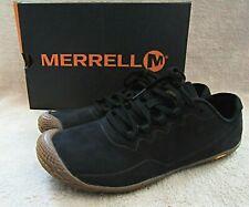 MERRELL J32936 Womens Vapor Glove 3 Luna Leather Black Shoes US 8.5 M EUR 39 NWB
