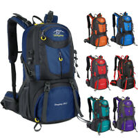 Camping Travel Backpack Waterproof Mountaineering Outdoor Rucksack Hiking Bag