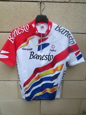 Maillot cycliste BANESTO Tour France 1996 INDURAIN camiseta jersey vintage 2 S