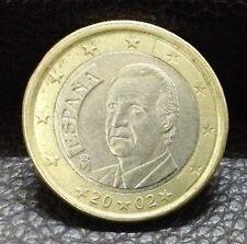 1 EURO Coin 2002 Spain King Juan Carlos I
