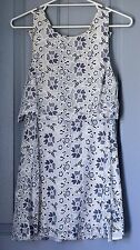 Womens Quirky Circus Floral Lace Casual Dress Size 10 Myer Sexy Cocktail Short