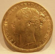 Australia 1876 S Gold Sovereign St George Sydney Mint AU