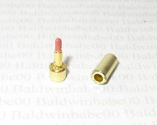 ACCESSORY (B)~ BARBIE DOLL MINIATURE NIGHTTIME GLAMOUR GOLD LIPSTICK FOR DIORAMA