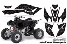 AMR Racing Honda TRX 400 EX Graphic Kit Wrap Quad Decal ATV 2008-2015 HISH SILVR