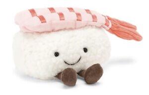 NWT Jellycat Silly Sushi Nigiri Roll Plush Stuffed Animal