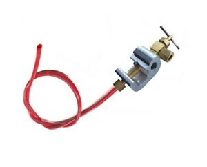 """Saddle Valve Mains Water Clamp with 1/4"""" Tubing Self Piercing"""