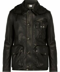 CP Company Leather Goggle Jacket 52 BNWT Mille rare deadstock collectors piece