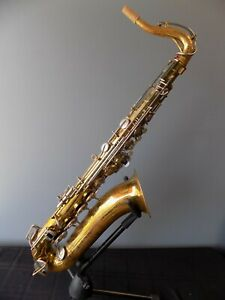 Late 60's Bundy Student Bb Tenor Saxophone - All new pads/corks/felts