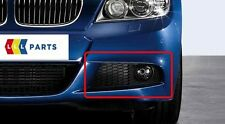 BMW E90 E91 08-11 M SPORT ANTERIORE NUOVA N / S SINISTRO PARAURTI INFERIORE grill+fog supporto