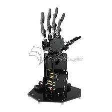 Bionic Robot Hand Palm Mechanical Arm Five Fingers with Controller for DIY uHand