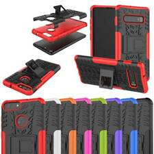 Stand Case For Samsung S9 S10 Plus A50 A30 Rugged Hybrid Armor 2 In 1 Shockproof