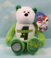 Limited Treasures 50 State Collectible Coin Bears: Mississippi