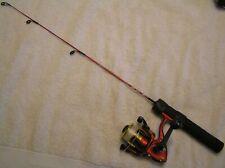 """3pt8 Mini 24"""" Fishing Rod & Reel Combo-Master 402Ard Spinning Reel Kayak Rod"""