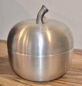 Seau à glaçons Pomme Alu brossé  70th B/TBE Design Déco