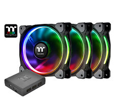 Thermaltake Riing Plus 3x140mm Pack RGB LED SOFTWARE CONTROL CL-F056-PL14SW-A