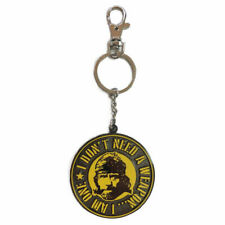 METAL KEYRING CHUCK NORRIS I DON'T NEED A WEAPON I AM ONE DELTA FORCE KEYCHAIN
