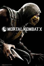 "MORTAL KOMBAT X POSTER ""COVER"" LICENSED ""BRAND NEW"" LARGE SIZE 61cm X 91.5cm"