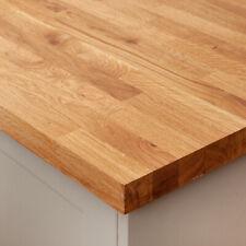 Solid Oak Wood Worktops And Breakfast Bars - Rustic Solid Timber Kitchen Worktop