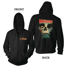 FAMOUS MONSTERS OF FILMLAND HOODIE - LARGE TWO SIDED COLOR LICENSED HORROR