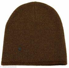 NWT GUCCI 352350 Men's Small Beanie Ski Hat, Light Brown/Beige