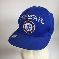 Chelsea FC London Soccer Football Club Futbol Hat Cap Blue Youth Size Adjustable