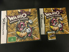 Wario Master of Disguise Game Nintendo DS/DS Lite/DSi/XL